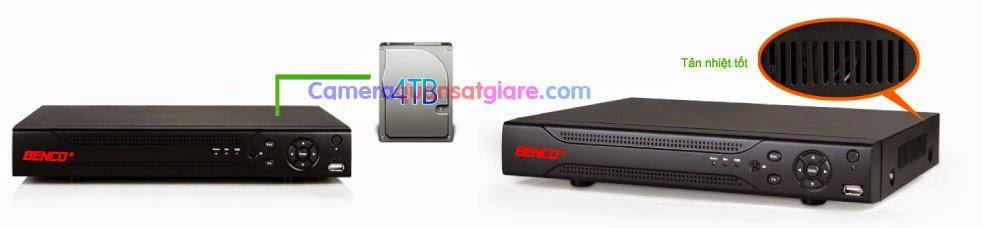 Đầu ghi hình 4 kênh chuẩn HD 1080P BEN-904CVI