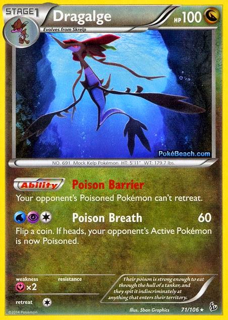 Dragalge flashfire pokemon card review primetimepokemon 39 s blog - Carte pokemon dragon ...