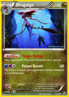 Dragalge Flashfire Pokemon Card