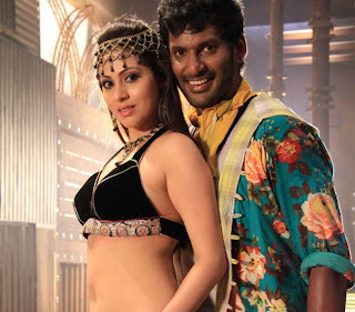 Sadha and Anjali Sexy item song in Madha Gaja Raja movie