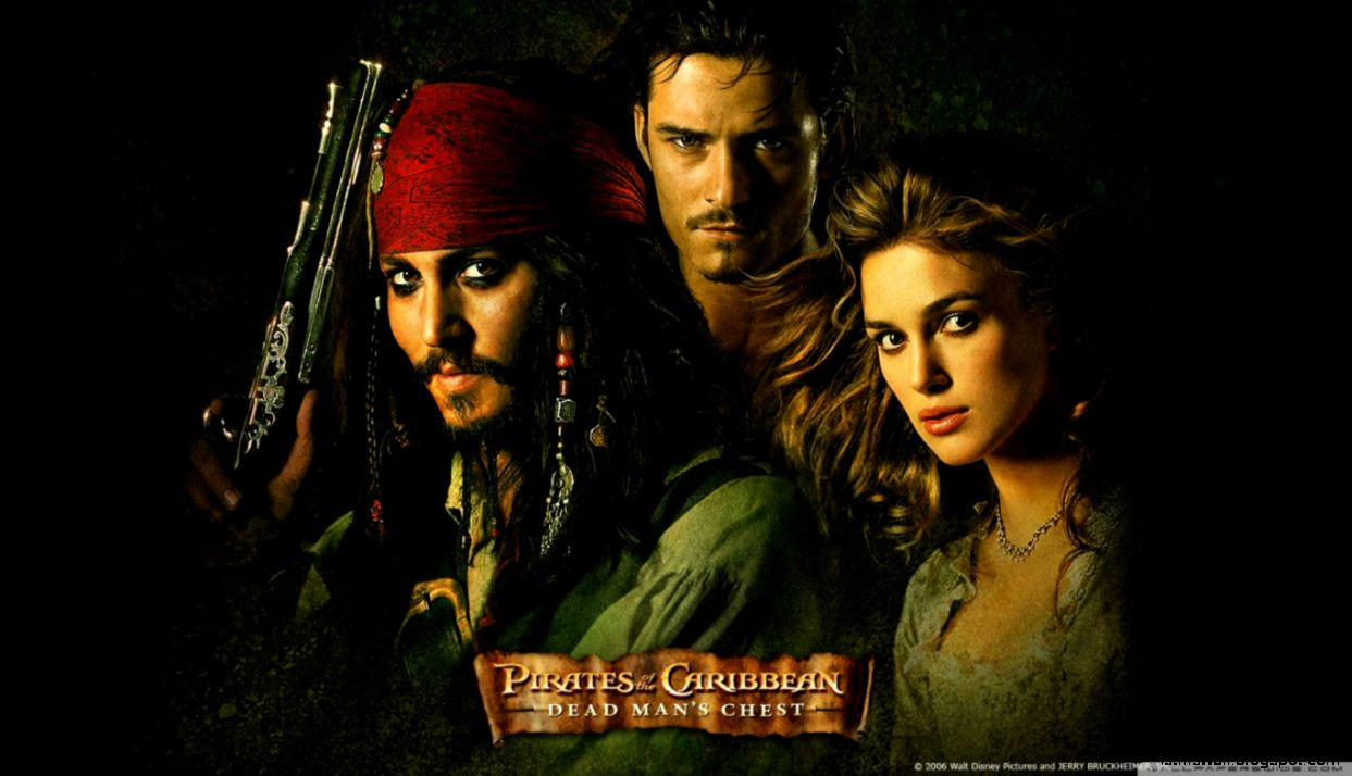 2006 Dead Mans Chest Pirates Of The Caribbean HD desktop wallpaper
