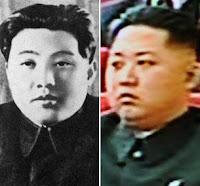 Comparación entre Kim Il-sung y Kim Jong-un