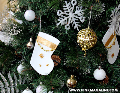 DIY Christmas Stocking Ornament