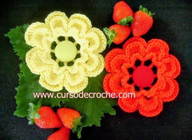 flores dvd 5 volumes da coleção aprendi e ensinei na loja curso de croche com frete gratis