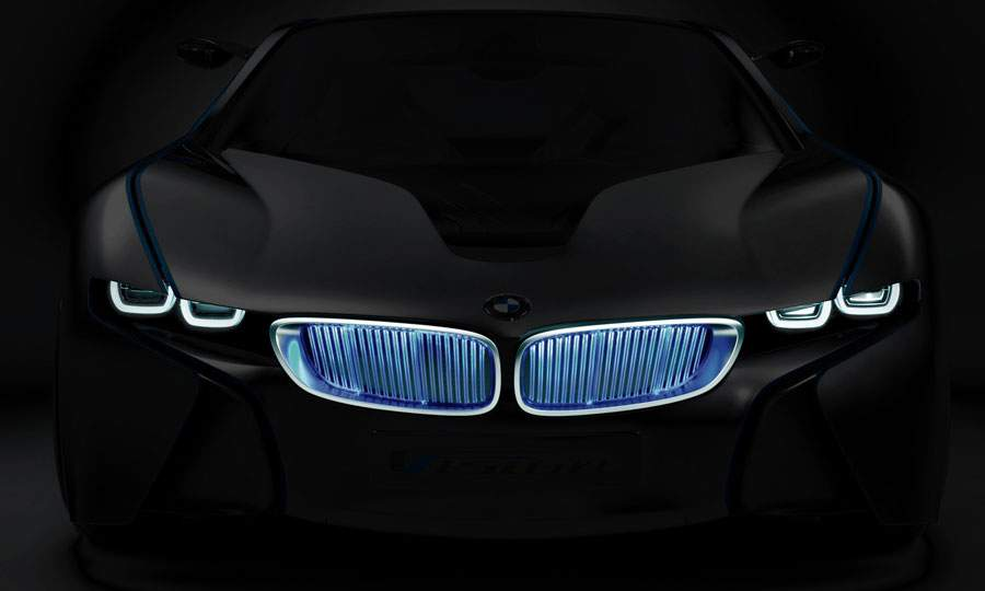 The Efficient Dynamics BMW concept car (dubbed i8) is a hit with switchblade