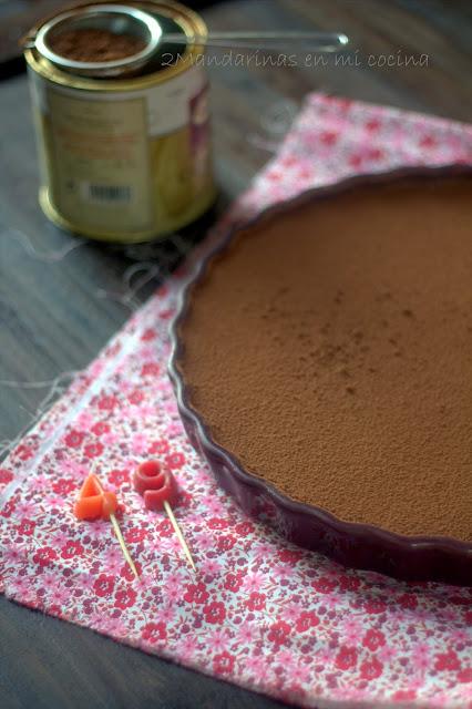 Marquesa de chocolate para un marqués. Feliz 49 cumpleaños Paco ;D