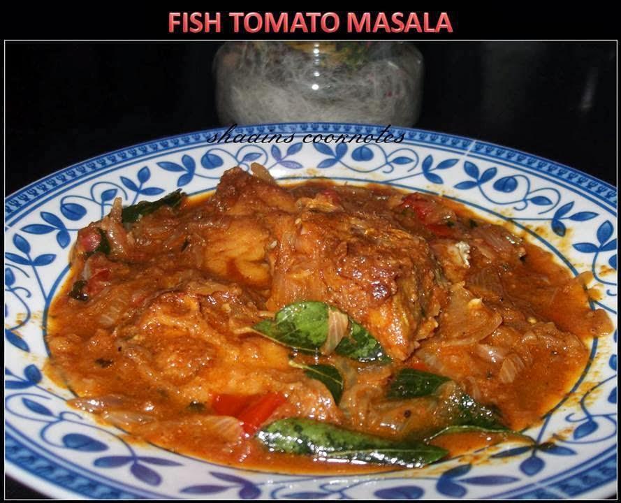 Fish Tomato Masala