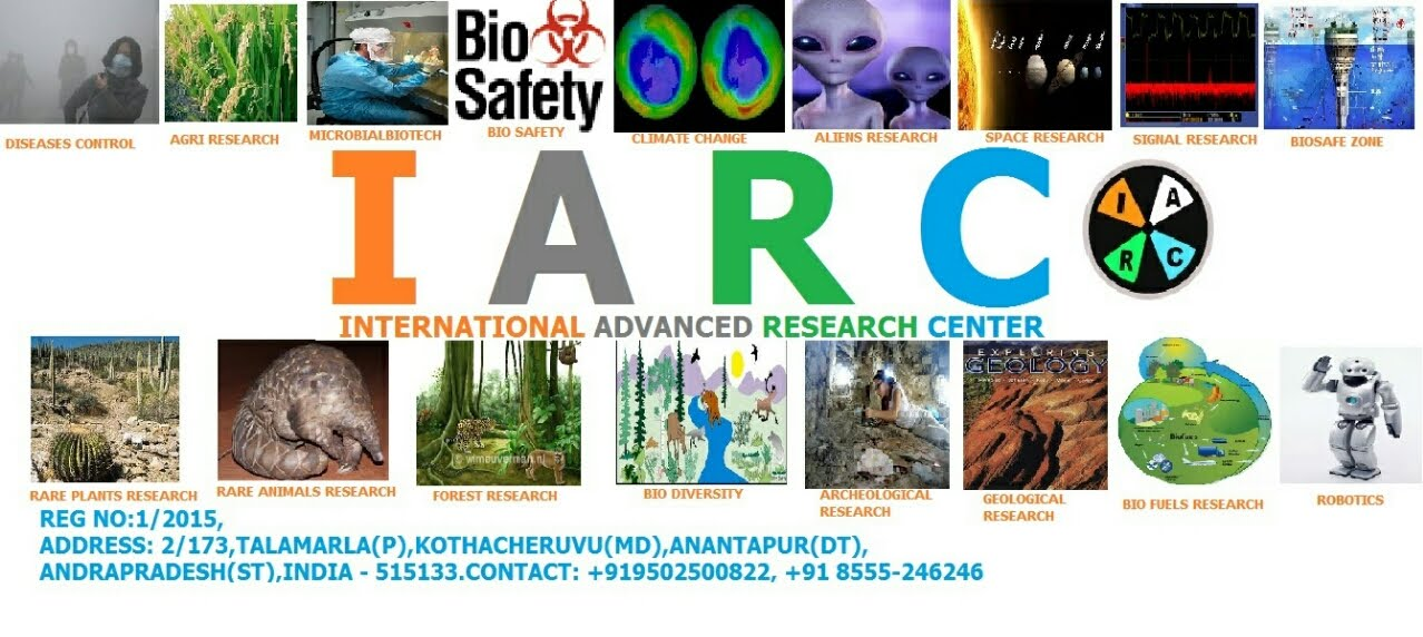IARC-INTERNATIONAL ADVANCED RESEARCH CENTER