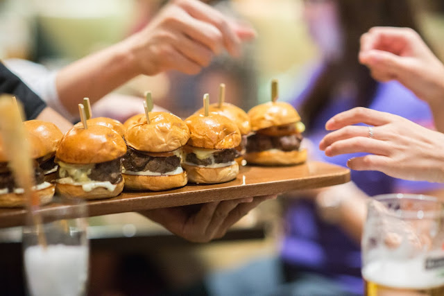 McGettigan's Clarke Quay - Mini Beef Sliders
