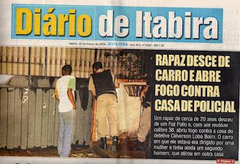 INVESTIGADOR DE ITABIRA SOFRE ATENTADO COM SUA FAMILIA... SUSPEITOS EM TESE, SÃO COLEGAS POLICIAIS.