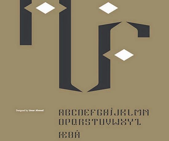 Alif free font