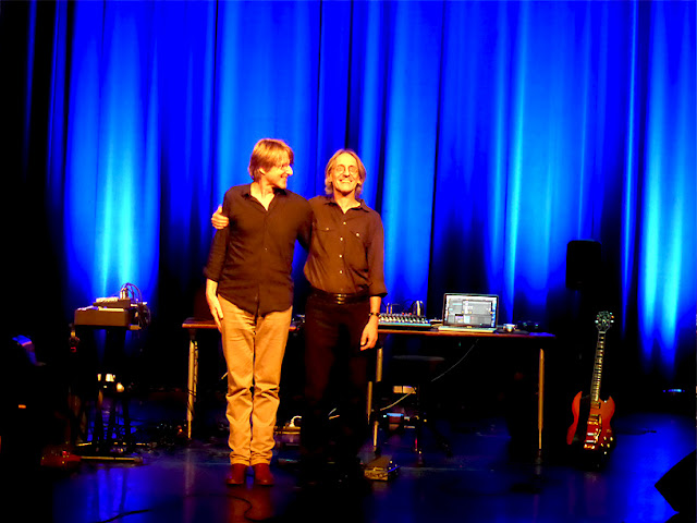 Ash Ra Tempel (Lutz Ulbrich, Manuel Göttsching) live @ E-Live 2015 / photo S. Mazars