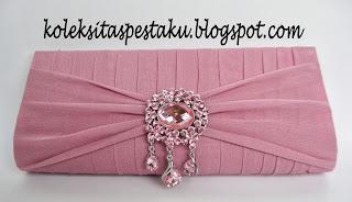 Tas Pesta Cantik Pink Jambu