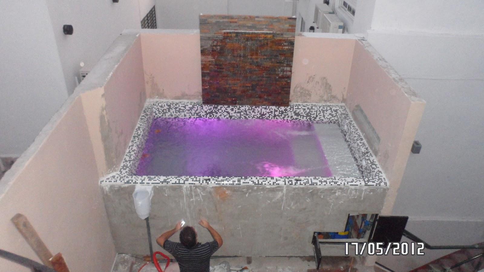 Arq martin arevalo arquitectura construcciones piscina for Piscina en terraza peso maximo