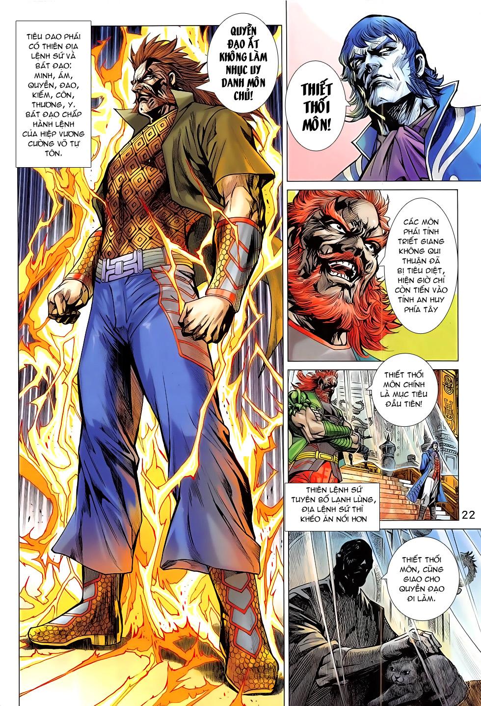 Tân Tác Long Hổ Môn chap 793 Trang 22 - Mangak.info