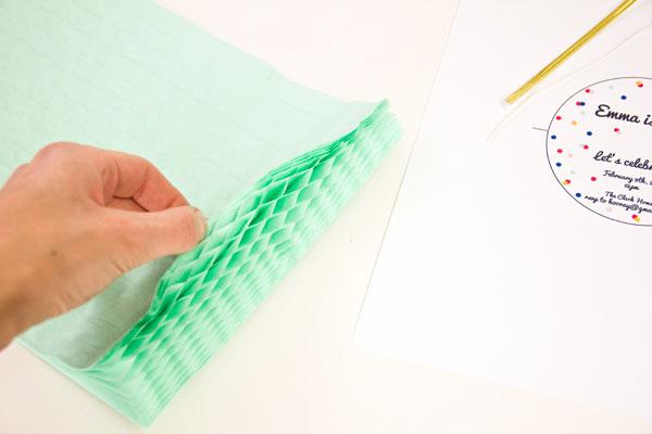 Как сделать шар соты своими руками