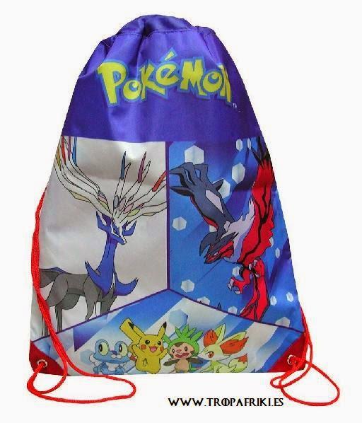 Bolsa de cuerdas Pokemon 13,10€