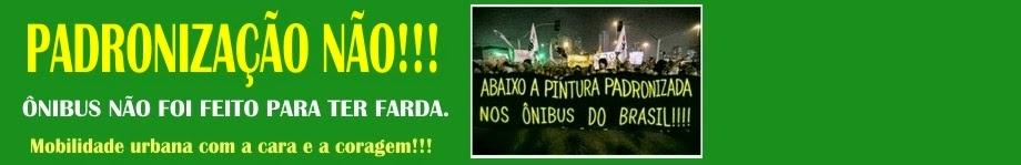 Movimento Pintura Livre: Padronização, Não!!! - Mobilidade Urbana com Cara e Coragem!!