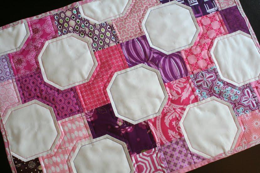 Салфетки сшитые из остатков ткани 30