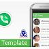Whatsapp Messenger UI Template Android