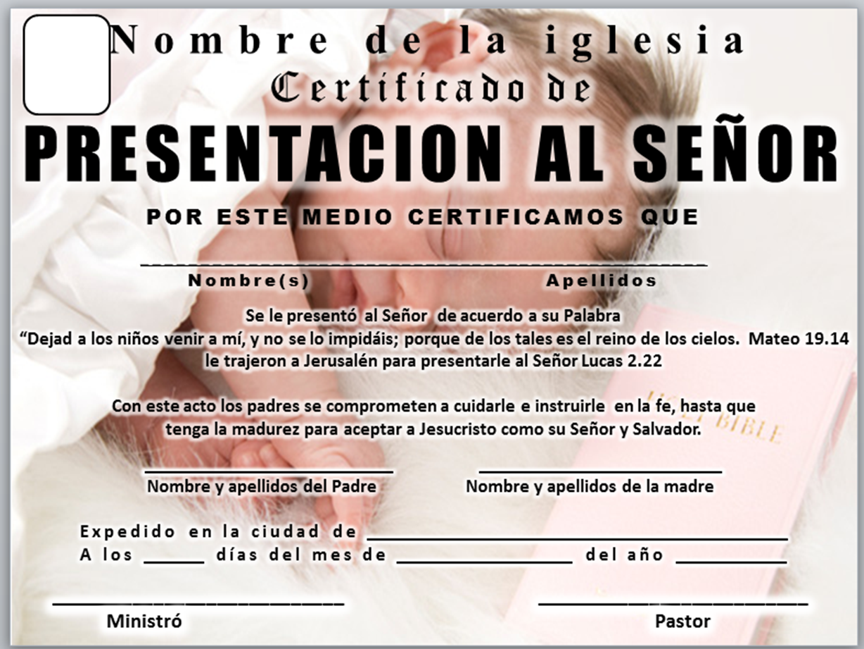 Presentacion De Ninos Cristianos