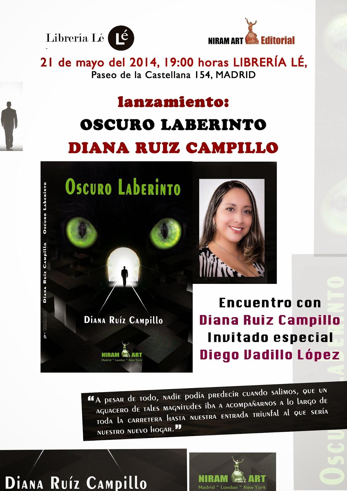 Libros Sueltos: Lanzamiento del libro Oscuro Laberinto en España