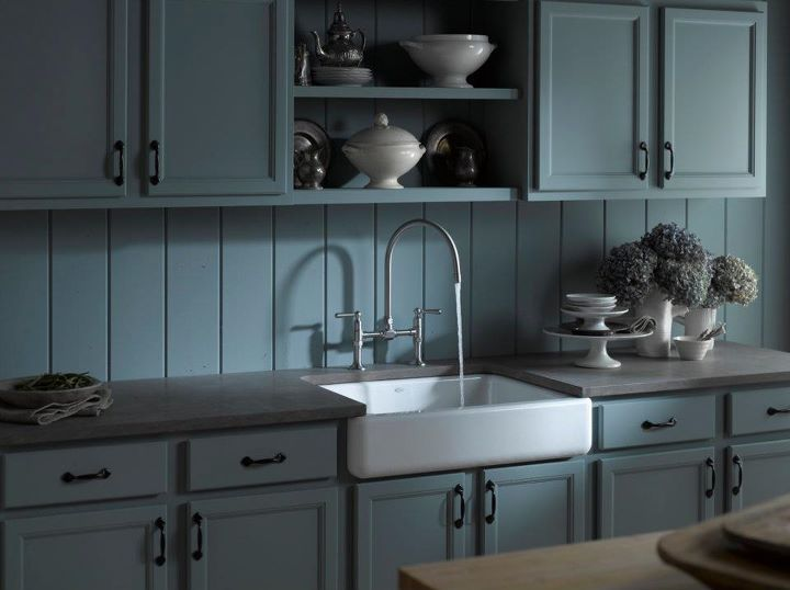 Apron Sink For Bathroom : Browse new apron-front sinks: http://bit.ly/nKjTHi
