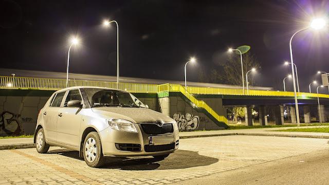 Skoda Fabia Tarnobrzeg Noc Samochów Night Car Poland
