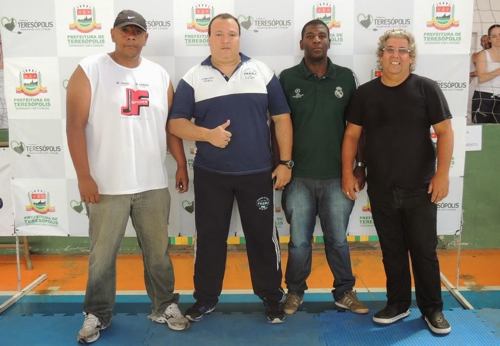 Organizadores João Ferreira, Fernando Ribeiro, Leonardo Silva e Manoel Varella
