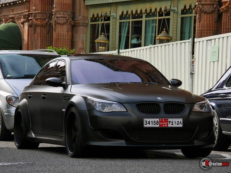 International Fast Cars Bmw M5 Black