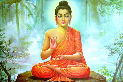 Buda joven en meditación