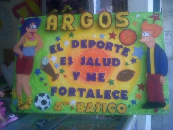 Pancartas Deportivas Imagui   MEJOR CONJUNTO DE FRASES