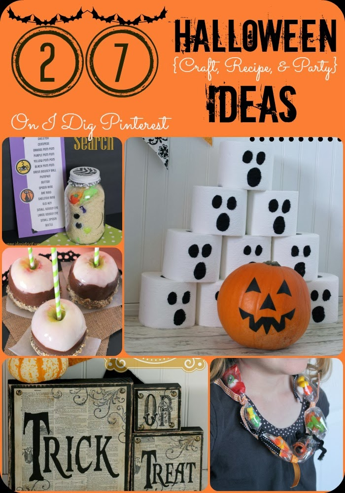 27 Halloween Decor, Craft, Recipe and Party Ideas on I Dig