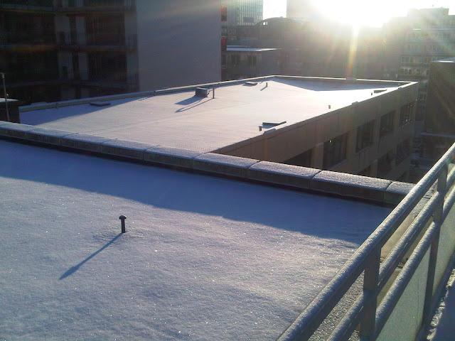 Hammerbrook - Dächer schneebedeckt