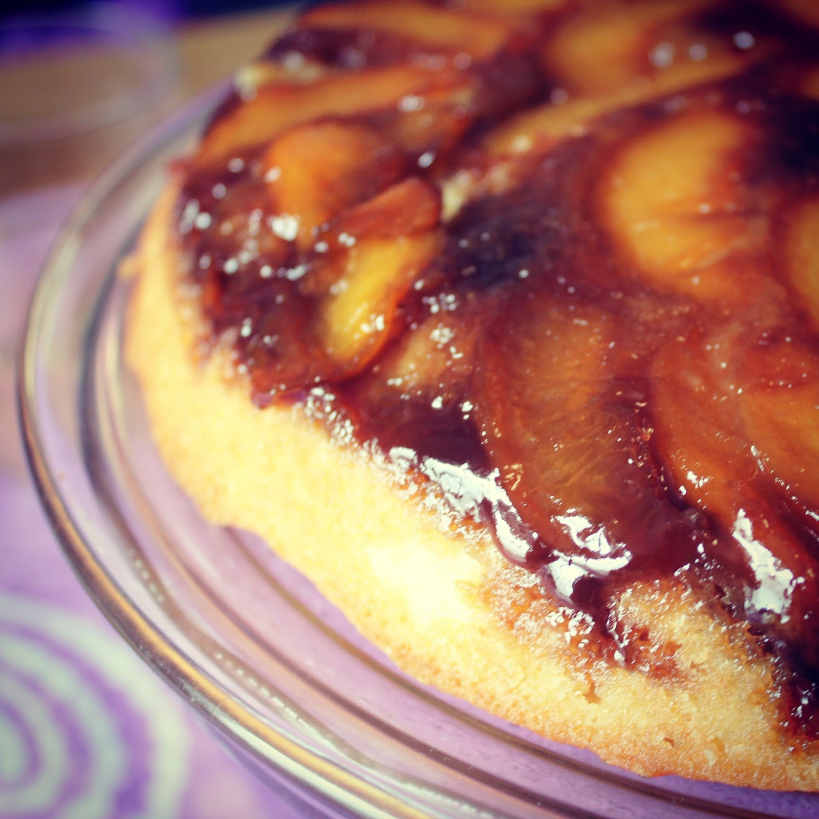 Runaway Apricot's Peach Upside Down Cake