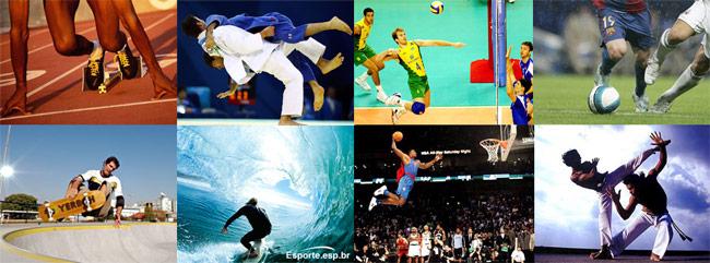 10 esportes mais praticados no Brasil