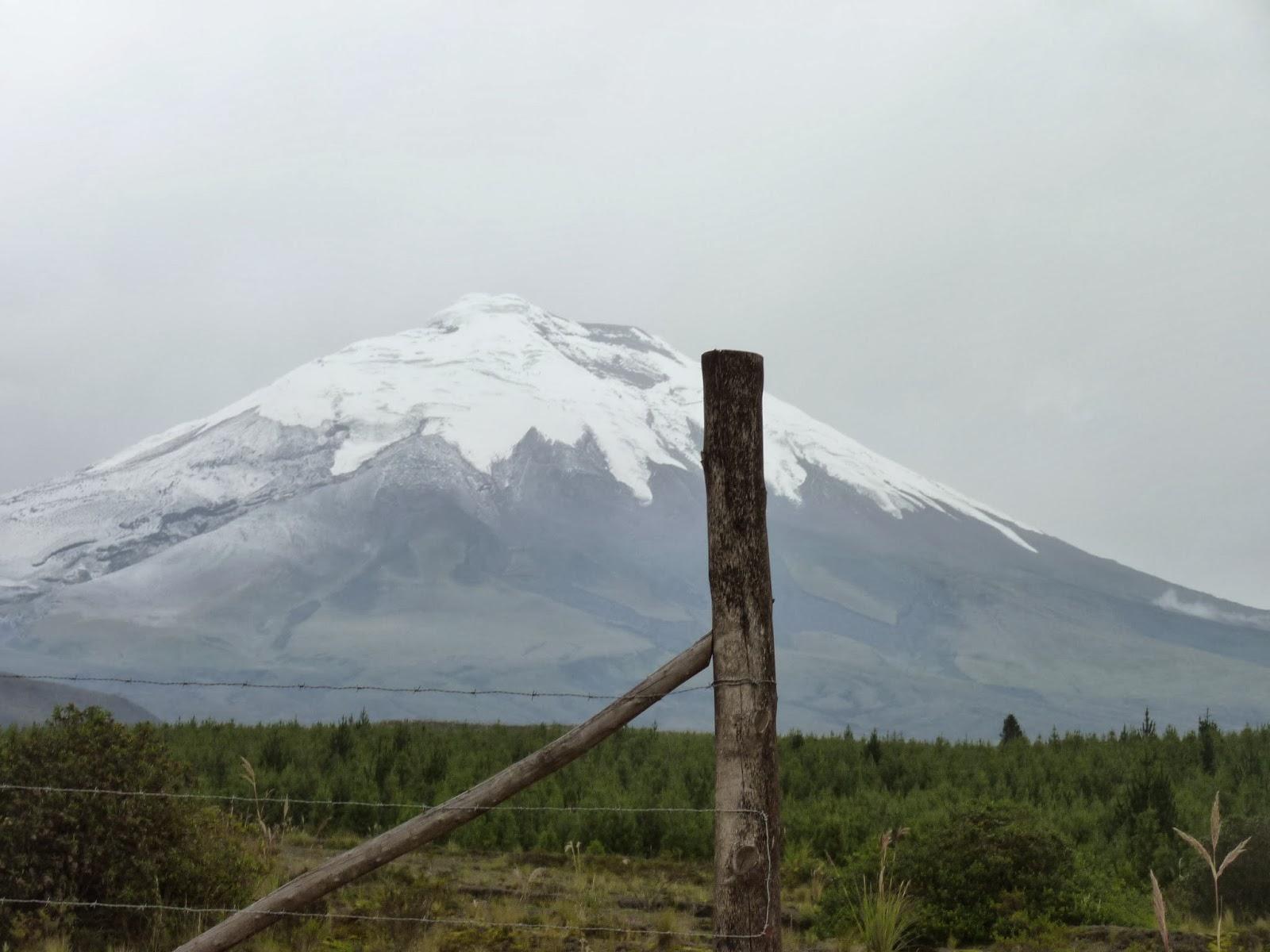 snowtop volcano