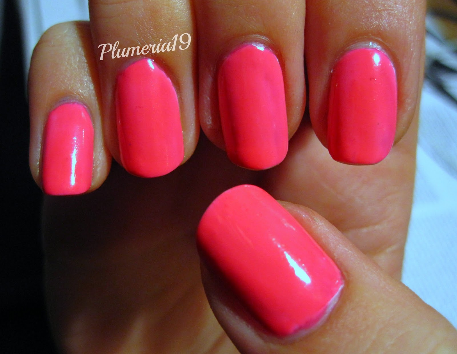PlumeriaPainted: Pink Nails: Nails Inc - Notting Hill Gate