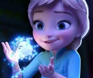 Foto Gambar Elsa Frozen Kecil