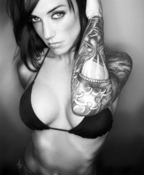 Chicas Sexys con Tatuajes
