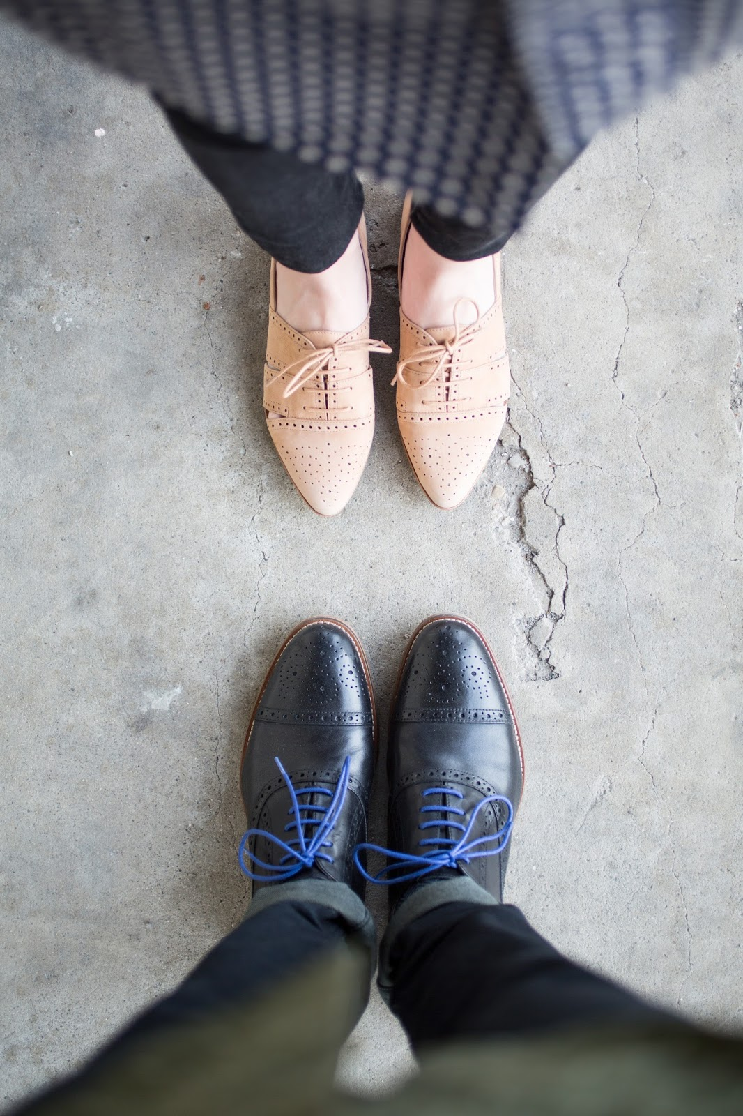 Johnston and Murphy Wingtip for Him and Her
