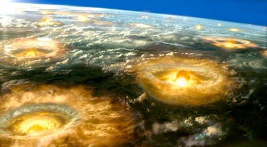 Ataque nuclear de Corea del Norte a Corea del Sur