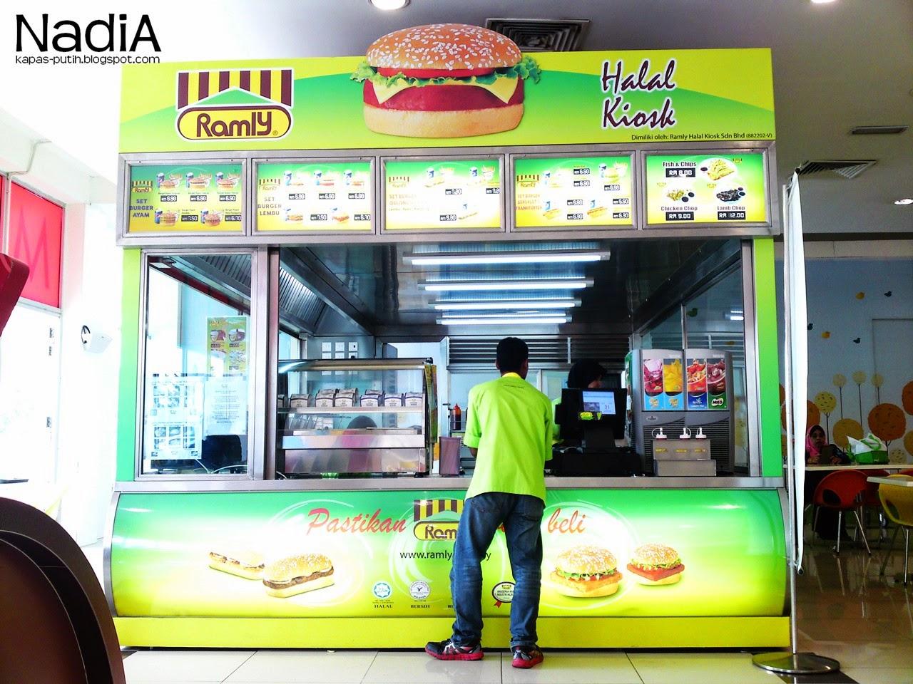 Burger Ramly Aeon Seksyen 23, Shah Alam