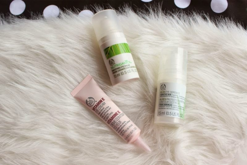 The Body Shop Eye Cream Haul