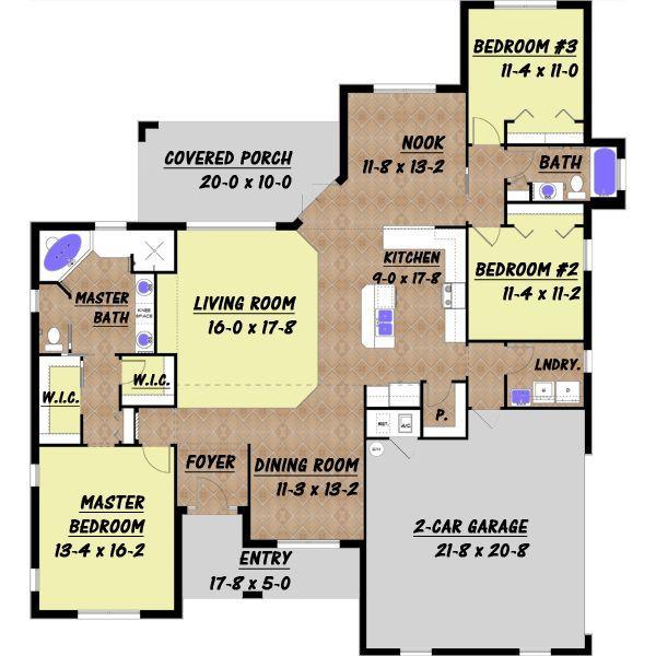 Planos de casas modelos y dise os de casas ver planos de for Diseno de casa de 7 x 17