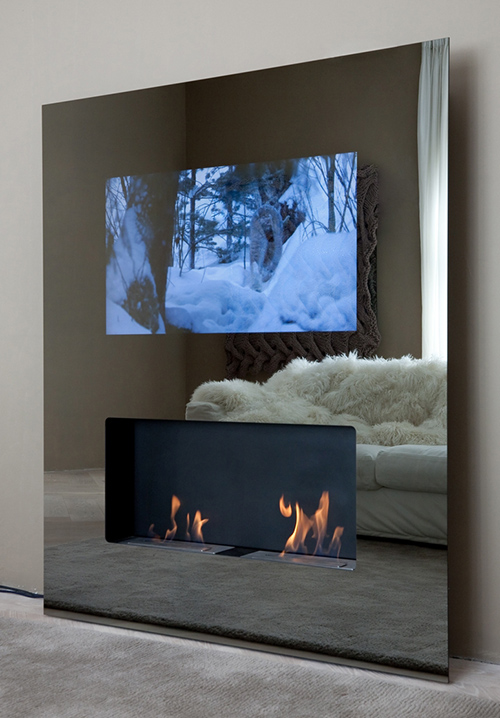 Best fireplace design ideas built in tv fireplaces - Muebles de chimenea ...