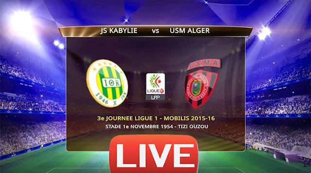 JS Kabylie - USM Alger (Live)