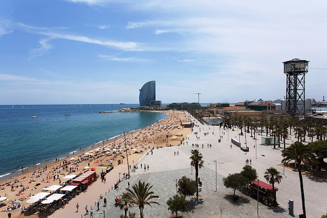 Praia de Barceloneta, Barcelona