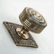 Brass Georgian Style Door Knobs