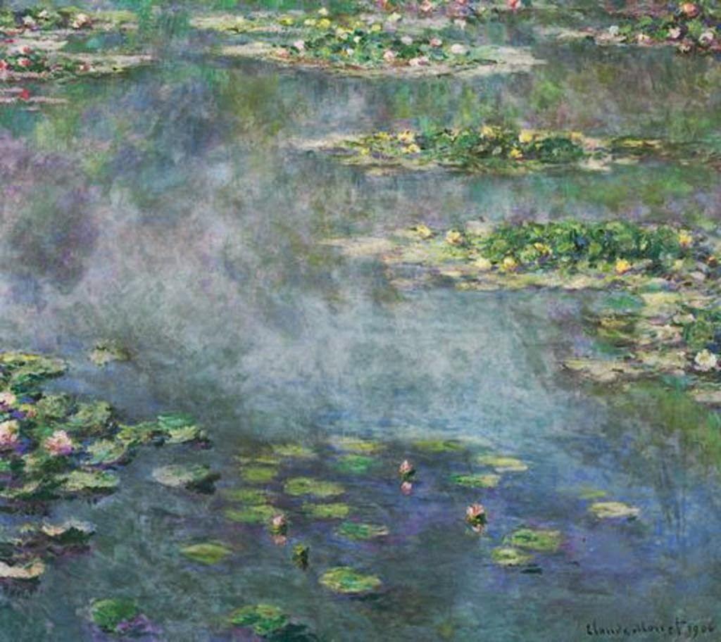 Клод Моне Водяные лилии. 1906 Sotheby's. 2014